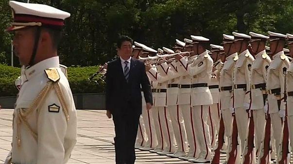 Japão reforça aposta na defesa