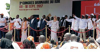 Alassane Ouattara renonce à la présidence de son parti le RDR