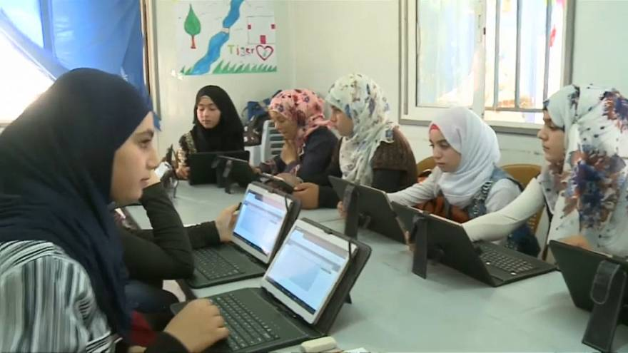 'TIGER Girls`getting young Syrian refugee women back to school