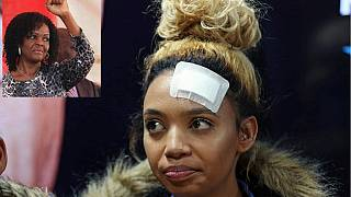 Grace Mugabe says 'drunk' South African model attacked her with knife