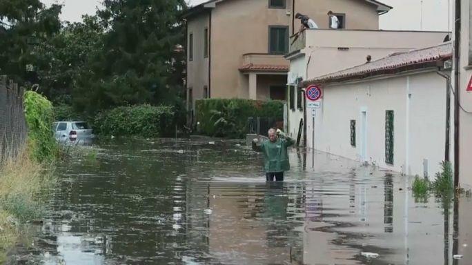 Sár és víz Olaszországban