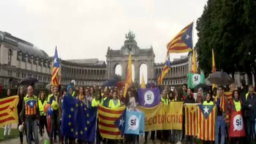 المؤيدون لاستقلال كاتالونيا ينشدون الاعتراف الدولي