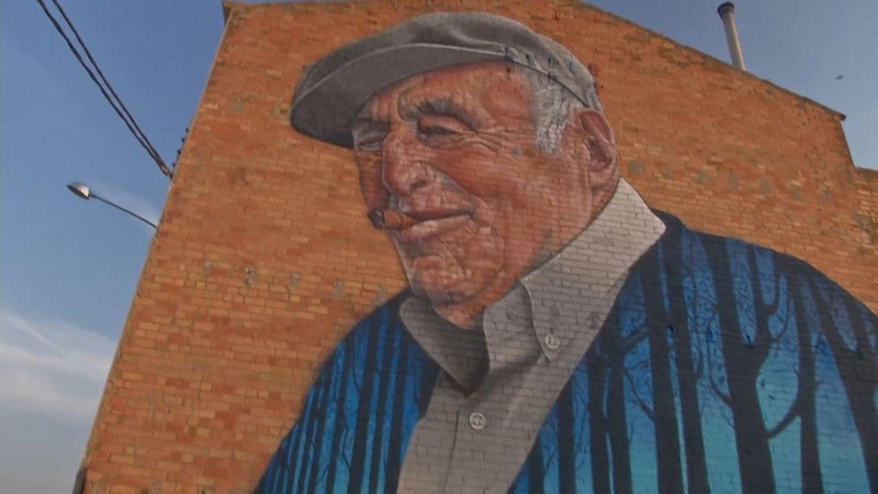 Un village catalan envahi par les graffitis!