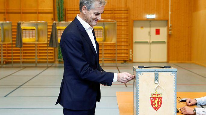 اليوم الحاسم للإنتخابات البرلمانية في النرويج