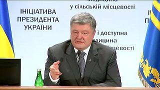 Porosenko: Szaakasvili törvénytelenül lépte át az ukrán határt