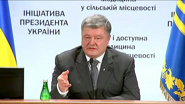 Poroshenko condena regresso de Saakashvili