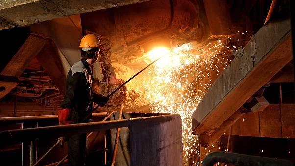 Image: FILES-IRAN-NUCLEAR-POLITICS-US-STEEL-MINING-sanction-metal