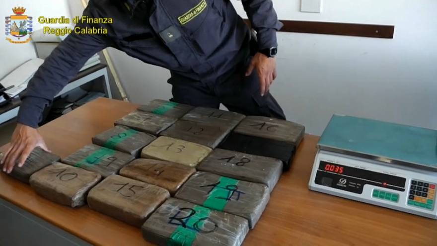Huge Cocaine Seizure in Italy