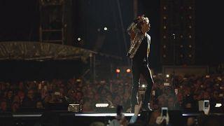 Arrancou a digressão europeia dos Rolling Stones