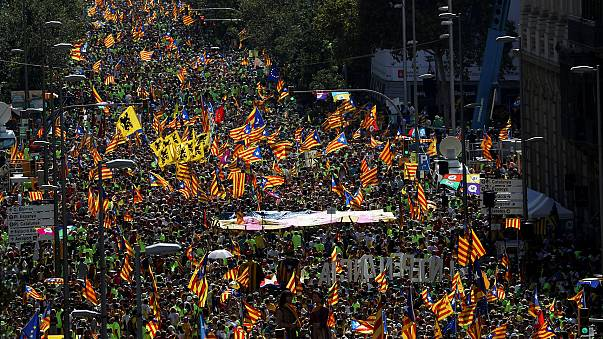 Catalans mark national day with calls for independence