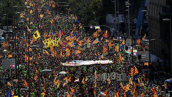 ¿La Diada del sí? Celebración del Día de Cataluña a menos de un mes del referéndum