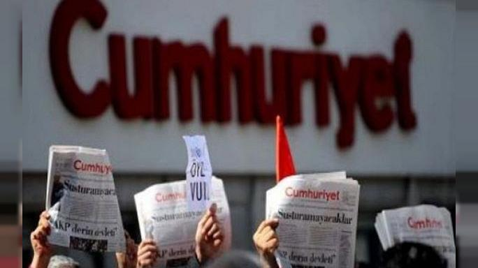 Rights group: Turkey newspaper trial a 'mockery of justice'