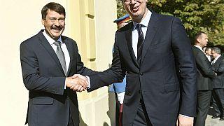 Áder egymás tiszteletére szólította a szerbeket és a magyarokat