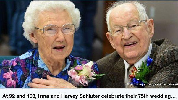 هارفي وإيرما قصة إعصار وقصة حب بطلها زوجان منذ 75عاما