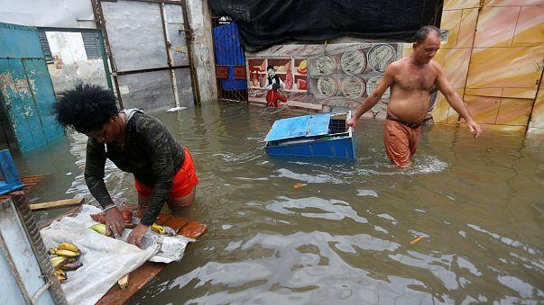 Irma deja diez muertos en Cuba