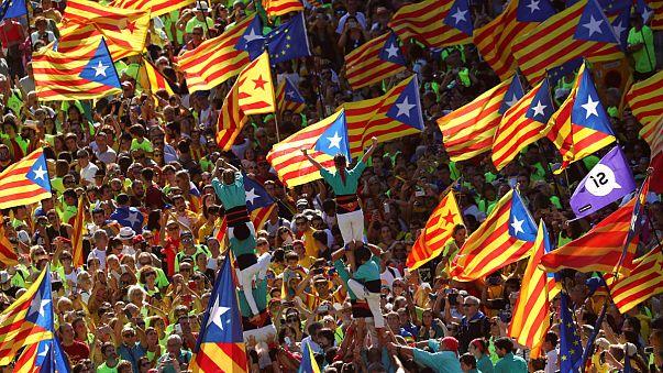 Katalonien: Massendemo für Abspaltung von Madrid
