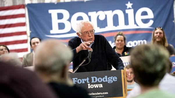 Image: Bernie Sanders Holds Campaign Town Hall In Fort Dodge, Iowa