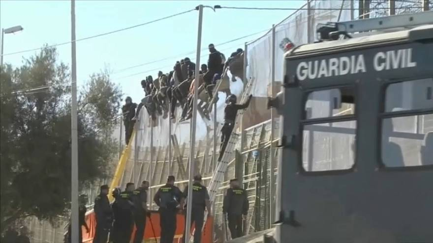Frontex observa mayor presión migratoria en España