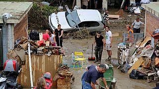 Naples (FL) após a passagem do Irma