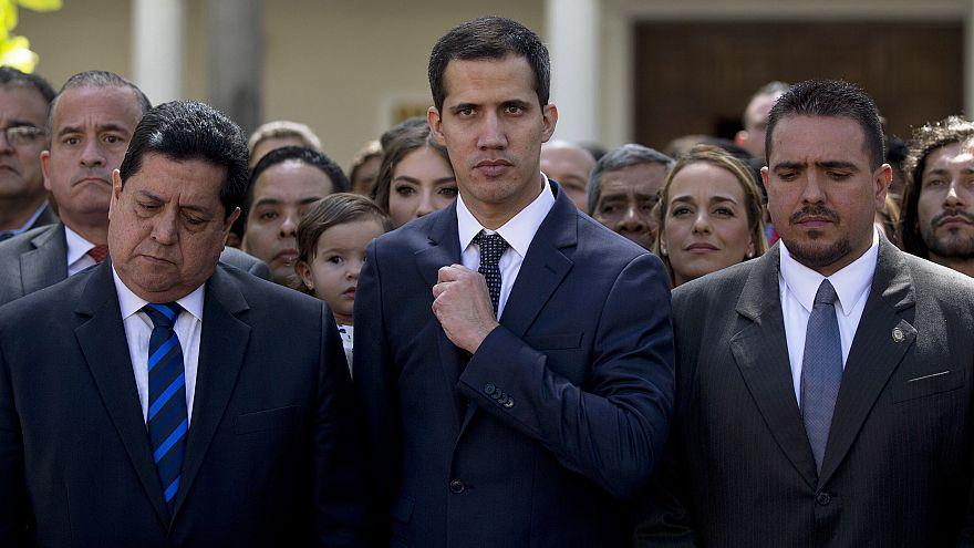 Image: Juan Guaido, Edgar Zambrano, Stalin Gonzalez