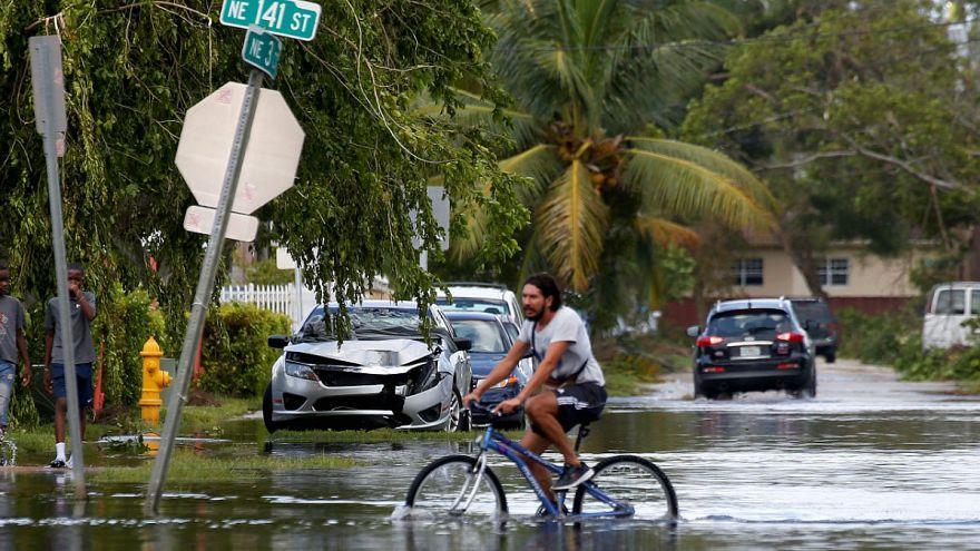 O furacão Irma deixou a Flórida às escuras