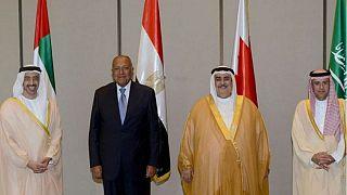 بيان الرباعي العربي يشكك في صدقية قطر ويصف سياستها بالمضللة