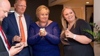 Erna Solberg renueva el cargo en las elecciones noruegas