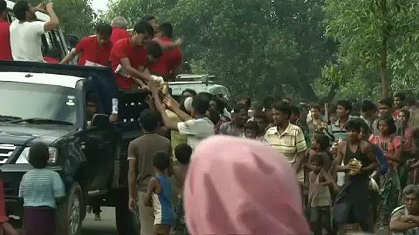 Pressure mounts on Myanmar over Rohingya exodus