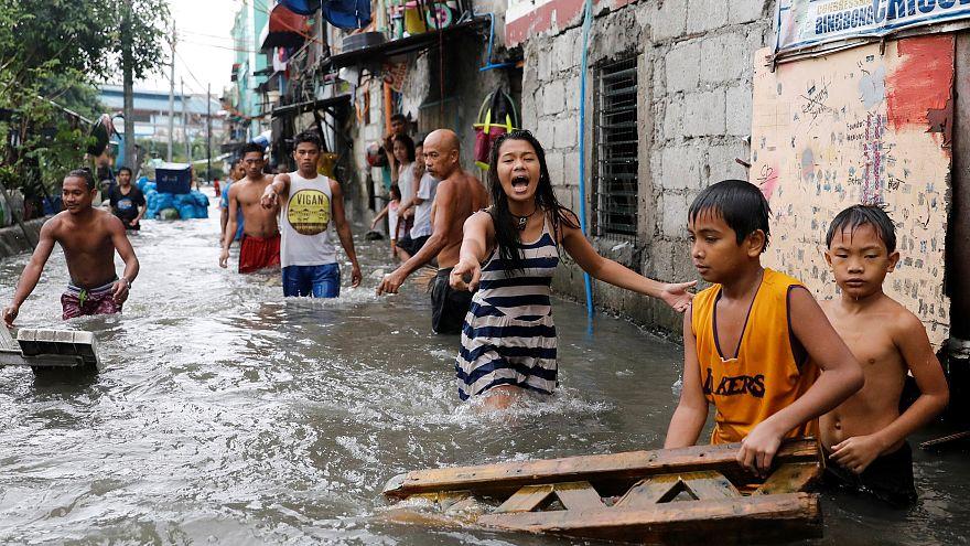 فيضانات عارمة تضرب الفلبين