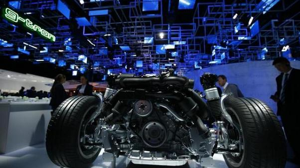 Electric cars headline the Frankfurt International Motor Show