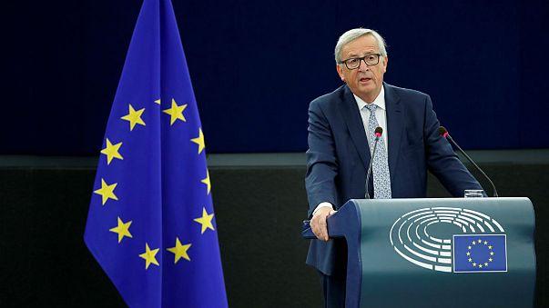 More Europe, less Brexit: Juncker sets out his EU vision