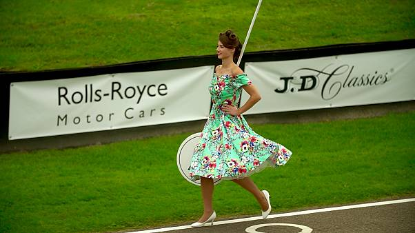 Goodwood Revival: mode vintage et voitures de collection