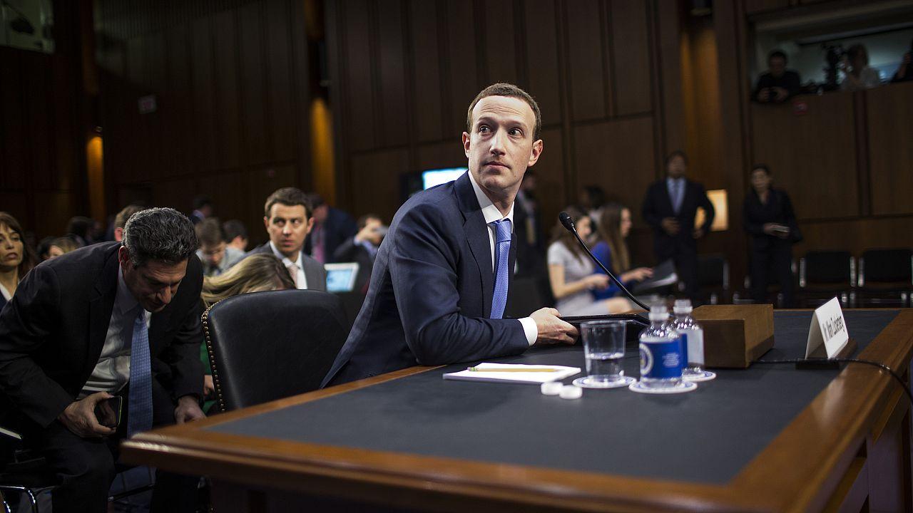 Facebook CEO Mark Zuckerberg Testifies At Joint Senate Commerce/Judiciary H