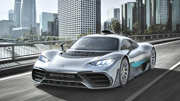The 'hypercar' by Mercedes-Benz, a formula One for the road