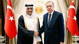 تركيا تجدد دعمها للدوحة خلال استقبالها وزير الخارجية القطري