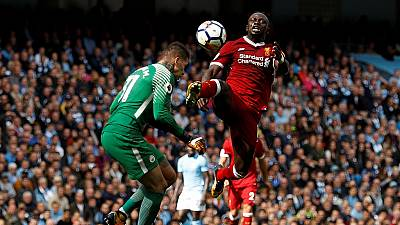Mane sent off as Liverpool suffer City defeat