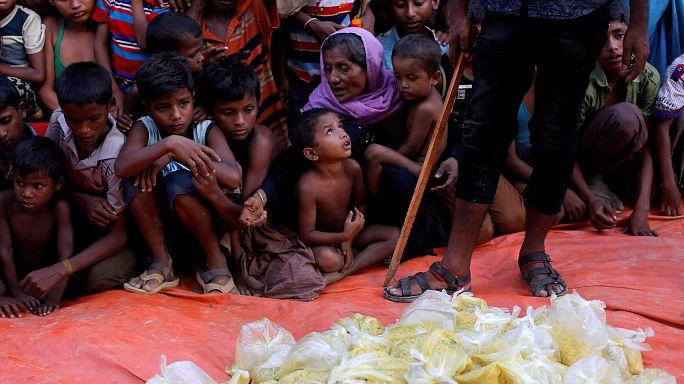 BM: 370 bin Arakanlı Müslüman Bangladeş'e sığındı