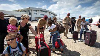 С острова Сен-Мартен эвакуируют пострадавших
