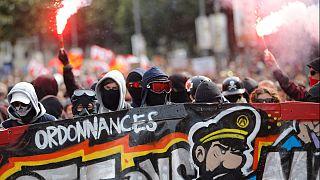 اعتصاب و تظاهرات سراسری در فرانسه علیه اصلاح قانون کار