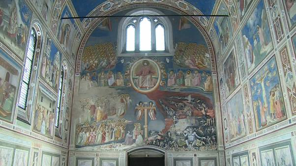 ...Et la lumière redonna vie à la Chapelle Scrovegni