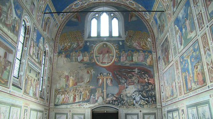 Cappella degli Scrovegni: e (nuova) luce fu