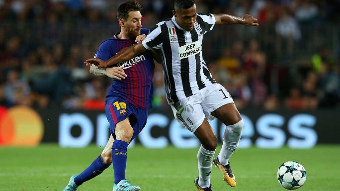 Ligue des champions : Paris et son trio brillent, le Barça domine la Juve