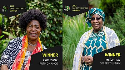 Two women from Kenya and Mali jointly win the 2017 Africa Food Prize