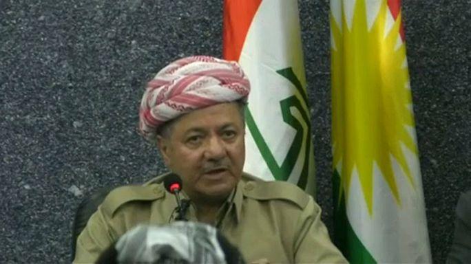 Barzani: Bağımsızlık referandumu ilan ettiğimiz tarihte yapılacak