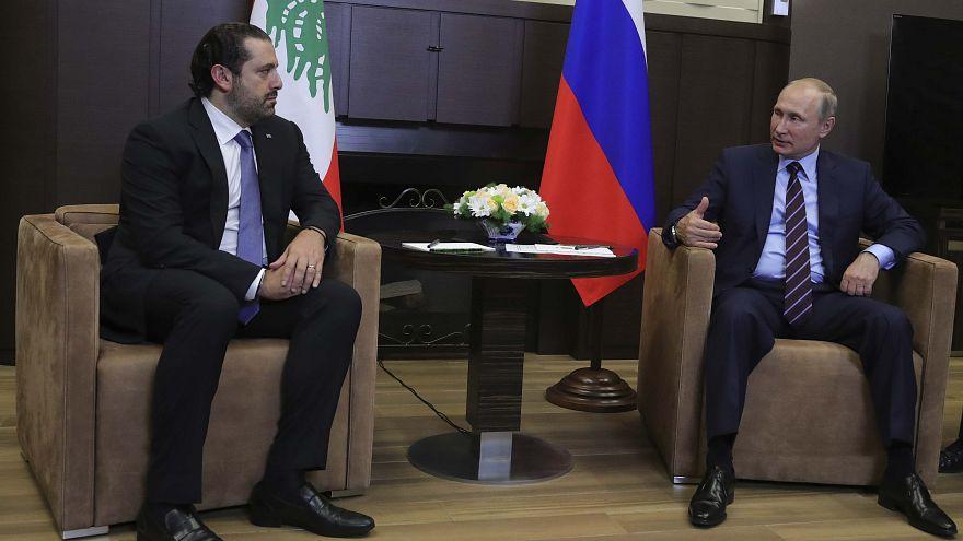 الحريري يلتقي بوتين ويشدد على اهمية تعزيز الاستقرار في سوريا