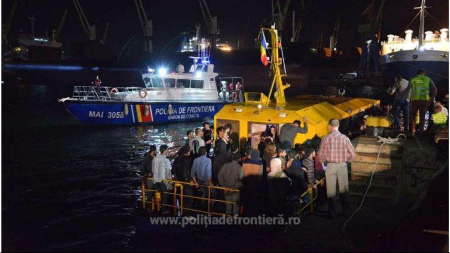 Menekültek a Fekete-tengeren