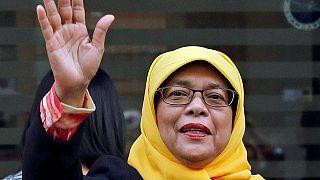 حليمة يعقوب أول امرأة مسلمة رئيسة لسنغافورة