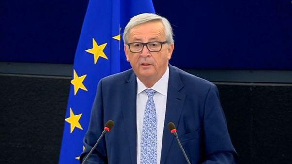 Les plus fortes déclarations de J-C Juncker sur l'état de l'UE