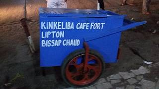 The kinkeliba cart: Congo Republic's roving tea center