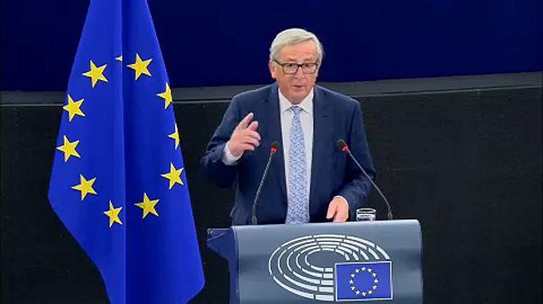"""Jean-Claude Juncker veut profiter """"des vents favorables"""""""